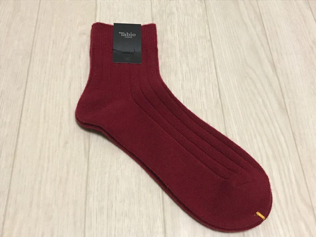 靴下屋の靴下 赤