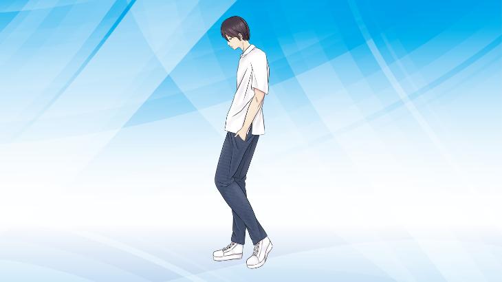 白シャツ メンズ コーデ