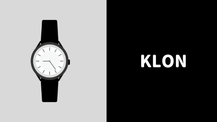new style 25c1c 48917 芸能人に人気の腕時計ブランド『KLON』の口コミ・評判 ...