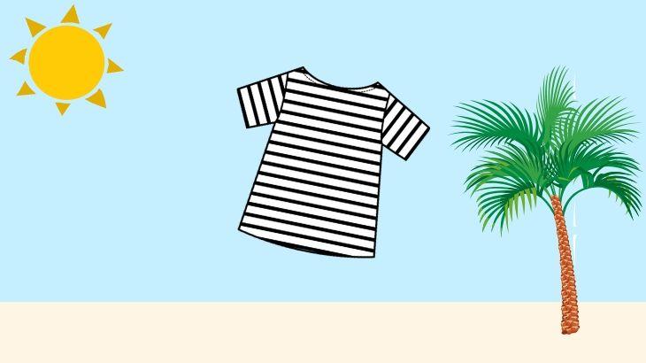 ボーダーTシャツは夏の着回しに万能!着こなしとコーデを解説!